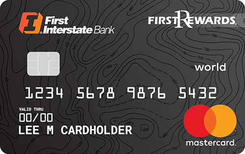 First Rewards World Mastercard Card