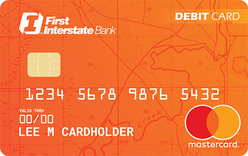 First Interstate Bank Debit Card