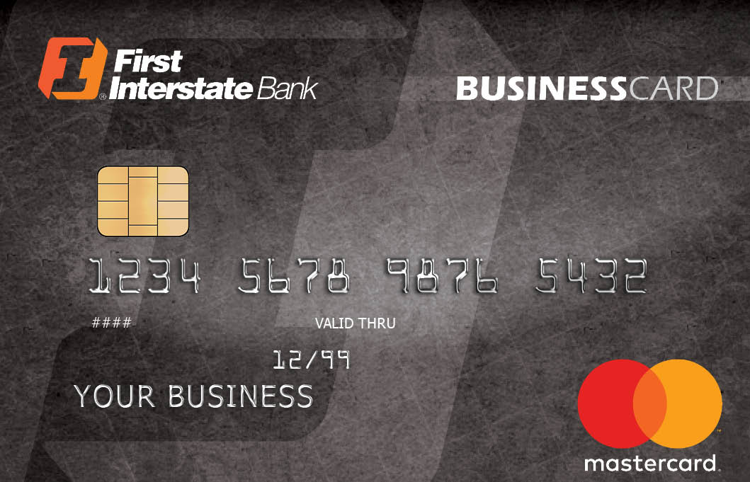 Business Credit Cards | First Interstate Bank