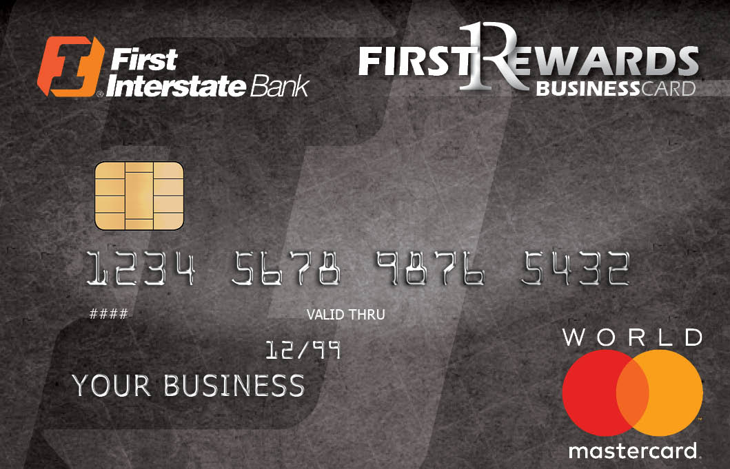 Business Credit Cards  First Interstate Bank