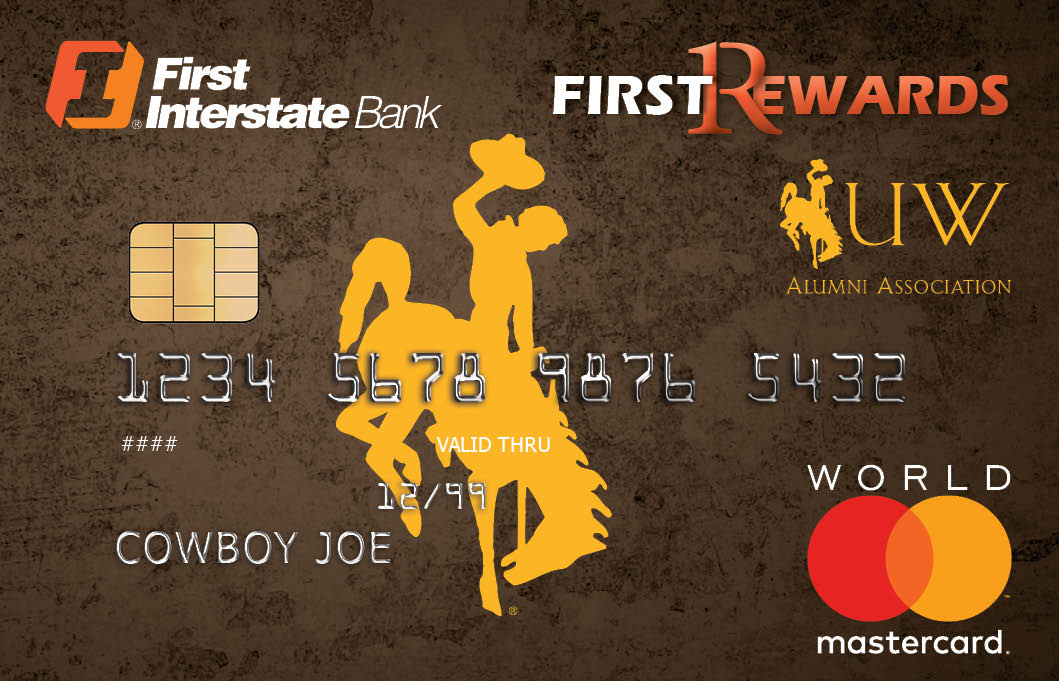 University of Wyoming Alumni Association FirstRewards World Mastercard