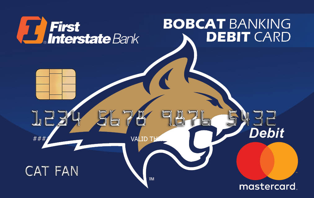 Bobcat Banking Debit Card