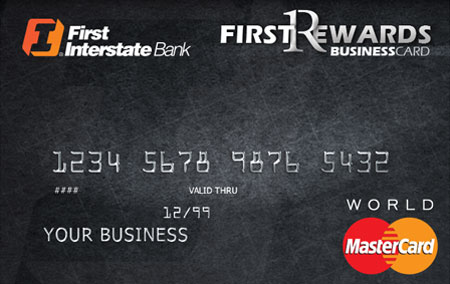 FirstRewards World MasterCard for Business