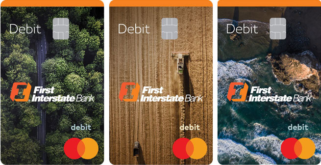First Interstate Bank Debit Cards